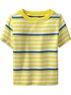 Striped Crew-Neck Tees for Baby