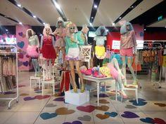 "TOPSHOP,Oxford Circus, London, UK, ""Meadham Kirchhoff Fashion Spectacular"", pinned by Ton van der Veer"
