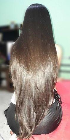 Really Long Hair, Super Long Hair, Long Black Hair, Long Layered Hair, Medium Hair Styles, Natural Hair Styles, Long Hair Styles, Silky Hair, Braids For Long Hair