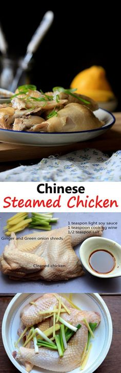 Chinese Steamed Chicken Recipe | China Sichuan Food