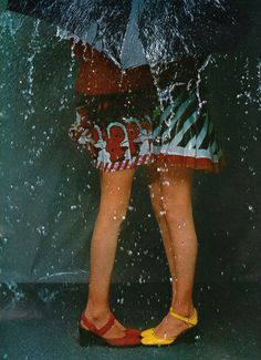 featherstonevintage:  Charles Jourdan by Guy Bourdin.Scanned from Marie Claire, March 1972