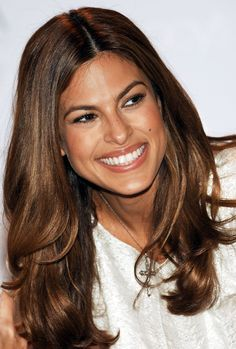 eva mendes hair color - Google Search