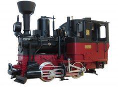 LGB Dampflok Stainz schwarz-rot, Soundmodul, Dampfgenerator, Spur G Gartenbahn I