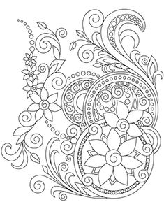 Coloring Book For Adults Amazing Swirls – Coloring Mandalas Love Coloring Pages, Printable Adult Coloring Pages, Mandala Coloring Pages, Coloring Books, Colouring Pages For Adults, Kids Coloring, Coloring Sheets, Doodle Coloring, Symbol Tattoos