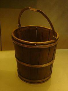Viking bucket in Viking Ship Museum, Oslo (wonderful museum)