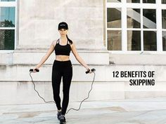 Skipping Benefits: Why Jumping Rope Is The Best Full Body Workout : #cardio #fitness #fitness_tips #exercise #workout_plans #health_fitness