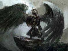 Ich habe:Engel der Dunkelheit!