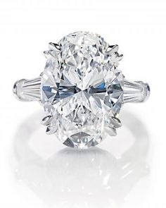 Harry Winston Oval-Cut Ring YES PLEASEEEEEEEEEEEEEEE