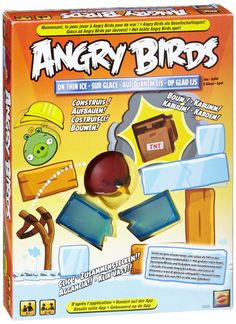Amazon.com: Angry Birds: On Thin Ice Game: Toys & Games