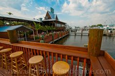 Doc Fords Rum Bar & Grille Ft. Myers Beach The restaurant is named after a character in Randy Wayne Whites books.