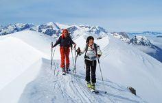 Am Gratverlauf zum Kampl, Salzburger Alpen