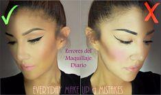 ERRORES de Maquillaje - CARO Y ECONOMINO  ( Everyday Makeup Mistakes)