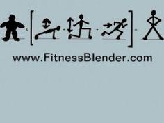 Fitness Blender Killer Home Workout – Week Long Home Total Body Workout Plan, Fitness Blender