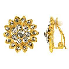 Jinxian Crystal Topaz Rhinestone Drop Earrings Elegant Noble Graceful Studs Shiny
