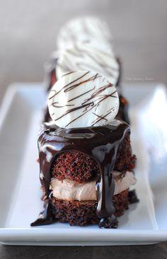 Decadent Layered Chocolate Cakes