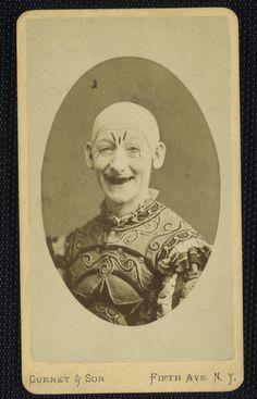 scarey clown. Victorian