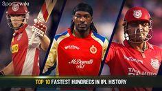 Fastest #Century in #Ipl History