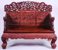 Huanghuali Wood Chinese Emperoru0027s Throne Chair, Late Qing (1849 1911)