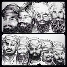A Sikh is a follower of Sikhism, a religion that originated in the 15th century in the Punjab region of India.  The Sikh religion was founded by Guru Nanak.