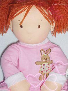 Купить Кукла Василина - вальдорфская кукла, вальдорфская игрушка, подарок девушке, подарок девочке
