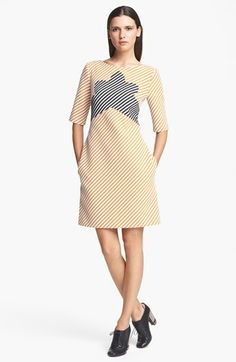 Carven Zigzag Tweed Dress available at #Nordstrom