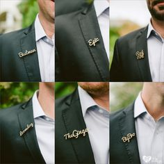 Cool boutonniere alternatives | Franschhoek Wedding Photographers