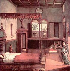 1495 Dream of St.Ursula - Vittore Carpaccio