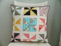 pinwheels pillow {plus a tutorial} - s.o.t.a.k handmade