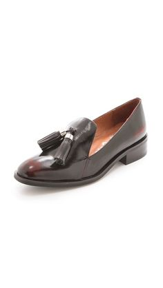 """Jeffrey Campbell Lawford Tassel Loafers 