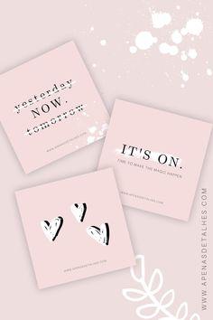 Instagram Blog, Instagram Design, Tumblr Wallpaper, Design Art, Place Card Holders, Layout, Pink, Rose, Inspiration