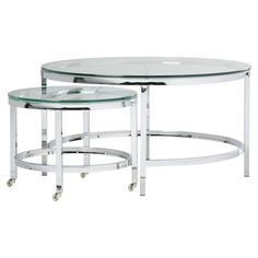 Berrien Coffee Table with Nested Stools