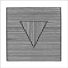 Triangle, c.1980 by Sol Lewitt