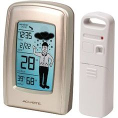 Kelly's Thoughts on Things said an AcuRite What to Wear Weather Station would make an excellent Christmas gift!