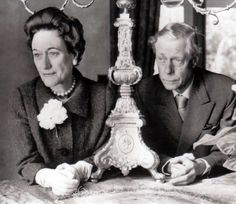 The Duke and Duchess of Windsor are shown in this study, at the home of Mrs. George T. Cameron of Hillsborough, California, March 27, 1959.