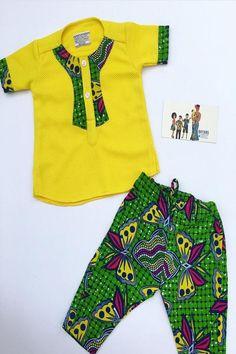 Dress For Kids Ankara 62 Ideas Baby African Clothes, African Dresses For Kids, African Clothing For Men, African Shirts, Latest African Fashion Dresses, African Print Fashion, African Wear, African Kids, Vintage Kids Fashion