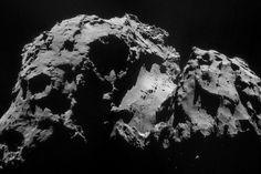 Space in Images - 2014 - 09 - Comet on 24 September – NavCam ESA/Rosetta