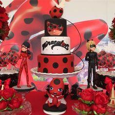 bolos Decorados Miraculous Ladybug 8