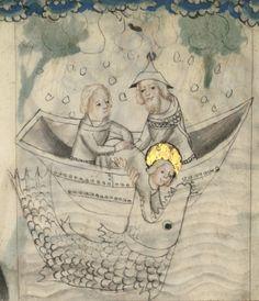 Speculum humanae salvationis. Date d'édition : 1301-1500 Sujet : Peintures Sujet : Reliures au chiffre de Louis-Philippe Type : manuscrit Langue : Latin