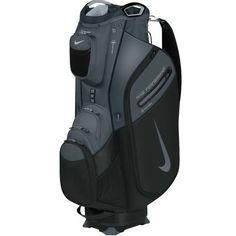 Nike Performance Cart II Golf Bag - Black/Dark Grey