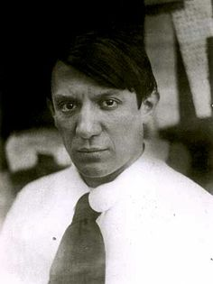 "kvetchlandia: "" Uncredited Photographer Pablo Picasso 1915 ""Art is the lie that enables us to realize the truth."" Pablo Picasso """