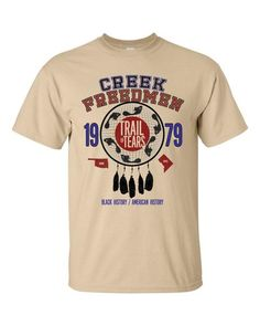 Creek Freedmen Trail of Tears SS T-Shirt