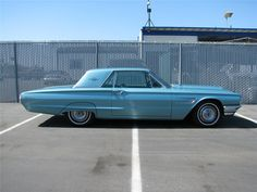 1965 FORD THUNDERBIRD 2 DOOR HARDTOP #FORD #CLASSICCARS #AMERICANCCARS