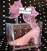 Clear plastic Cinderella slipper spray painted and in clear purse favor bag Sweet 16 Favors, Cinderella Slipper, Cinderella Wedding, Glass Slipper, Plastic, Purses, Bags, Sweet Fifteen, Cinderella