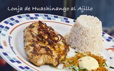 Lonja de Huachinango al Ajillo #food #comida #alimentos #fishers #gourmet #mexico #delicias