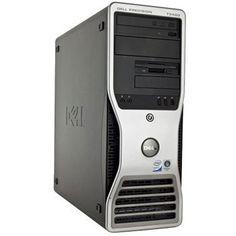 PC sh Dell Precision T3400 Workstation, Core 2 Quad Q9550