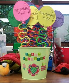 Student Birthday Gifts- Students pick a straw when it is their birthday- love this idea! :)