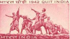 On 8th Aug 1942,#MahatmaGandhi launched the Quit India Movement for freedom from British rule in Mumbai (then Bombay).