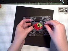 Finally Friday - Clear Card (Two Peas In A Bucket) - YouTube Video 5:28 min Kristina Werner, Garden Girl at Two Peas In A Bucket, demonstrates how to create a clear card using Hero Arts Acetate Cards. See more at http://www.twopeasinabucket.com/