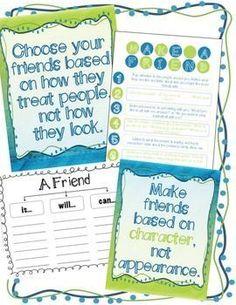 Friend Zone: How to Make and Keep a Friend -... by Counselor Keri | Teachers Pay Teachers (scheduled via www.tailwindapp.com)