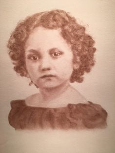 Fannie, a redeemed slave child from Virginia - one of the children in the collection Beloved: Legacy of Slavery by Mary Burkett.